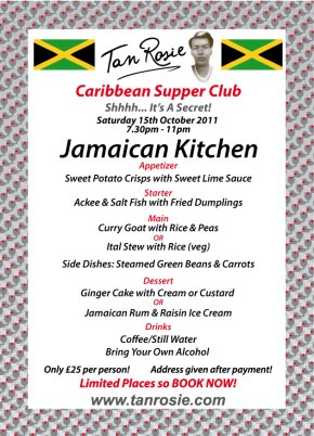 Hot tan rosie caribbean food blog for W kitchen verbier menu