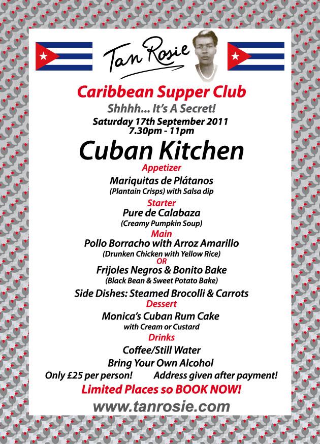 Cubano Kitchen Menu