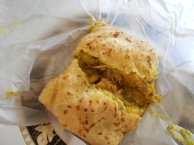 Chicken Roti Takeaway Grenada 2