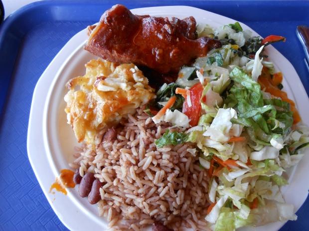 Creole Shack Meal Grenada