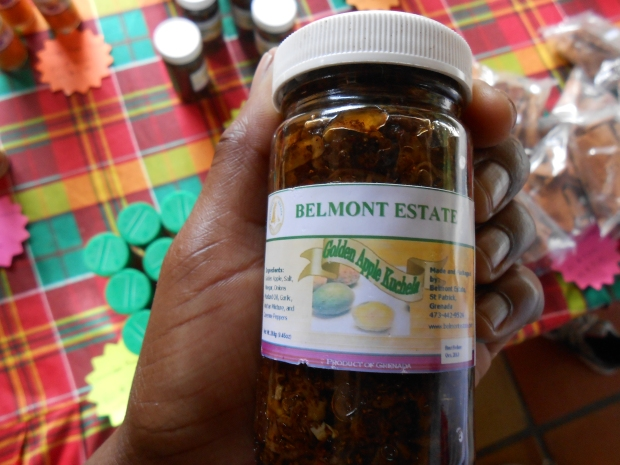 Golden Apple Kutchela Chutney Grenada
