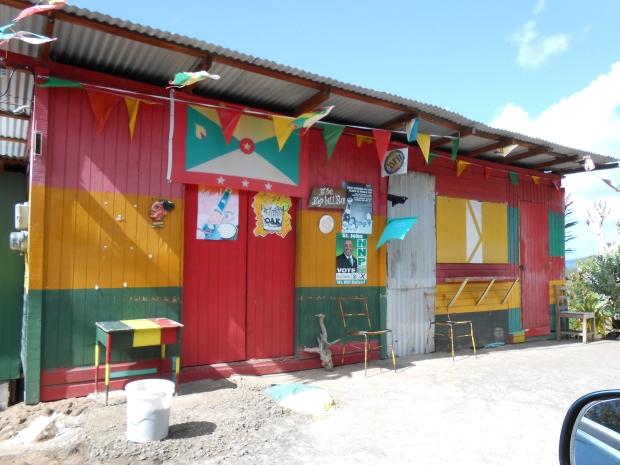 Grenada Flag Building