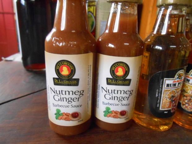 Nutmeg Ginger Sauce Grenada