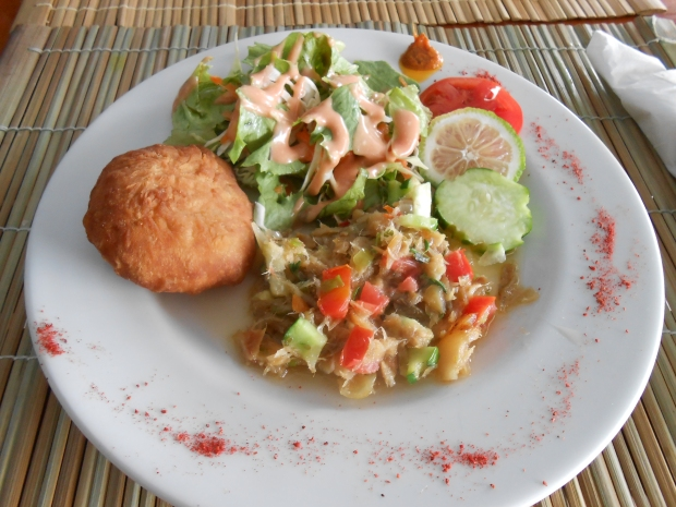 Salt Fish & Bakes BB's Grenada