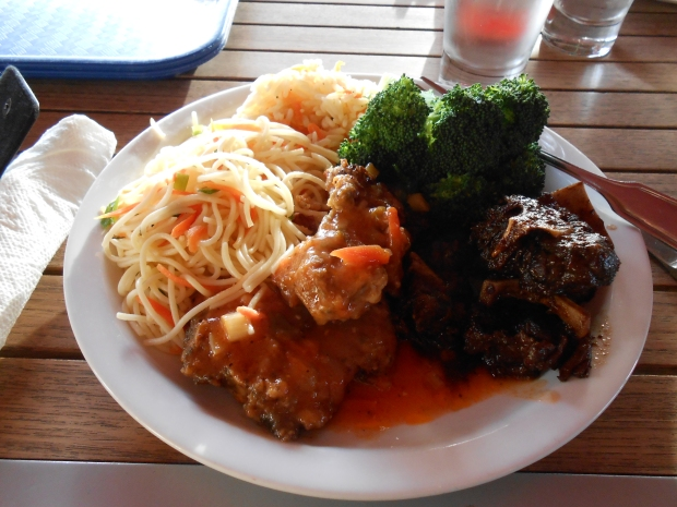 Stewed Pork and Sauted Fish Grenada