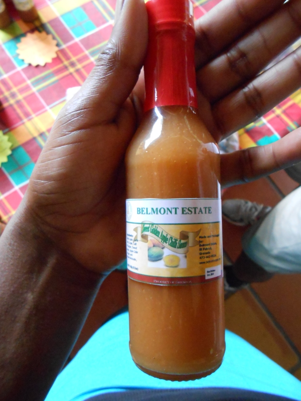 Sweet Golden Apple Chilli Sauce Grenada