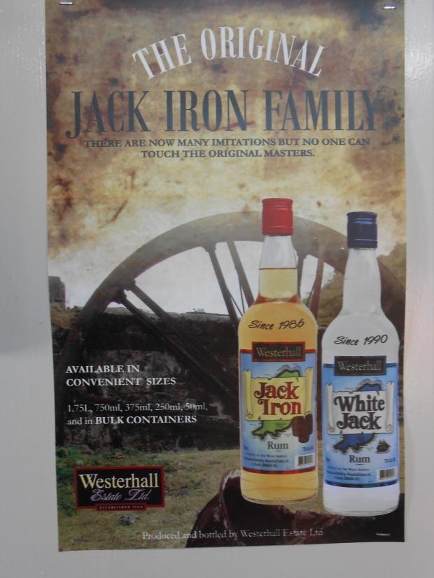 Westerhall Rum Grenada Jack Iron Rum White Jack 2