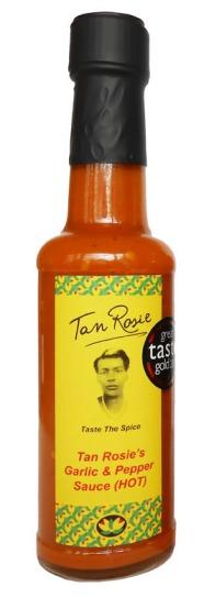Tan Rosie's Garlic 7 Pepper Sauce Hot