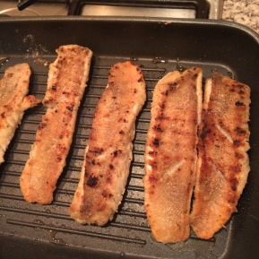 Grilled Jerk Red Snapper